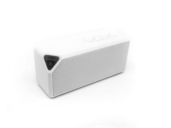 Speaker parlante white bluetooth con luces led