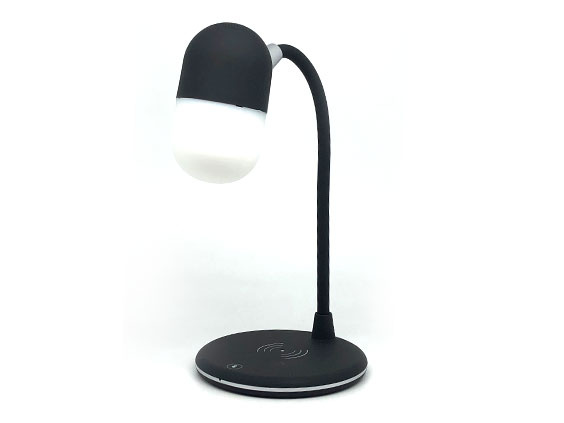Lamp 3 en 1. Lampara / Cargador Wireless / Parlante