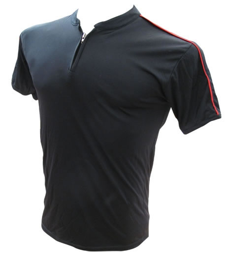 Remera Dryfit cuello Mao con vivo